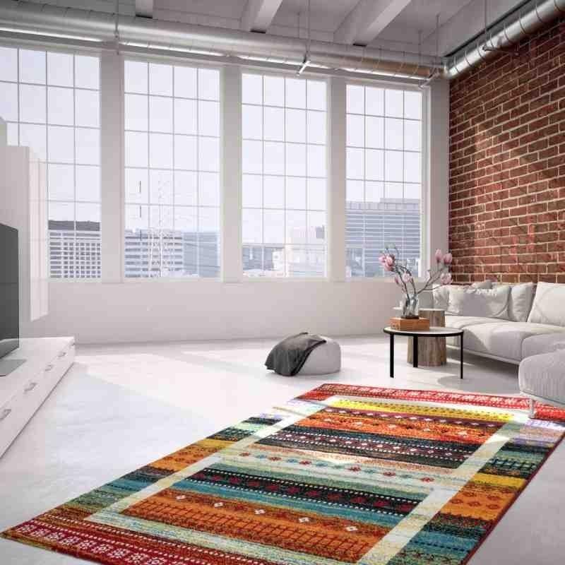 tappeto moderno fantasia castara 253 multicolore