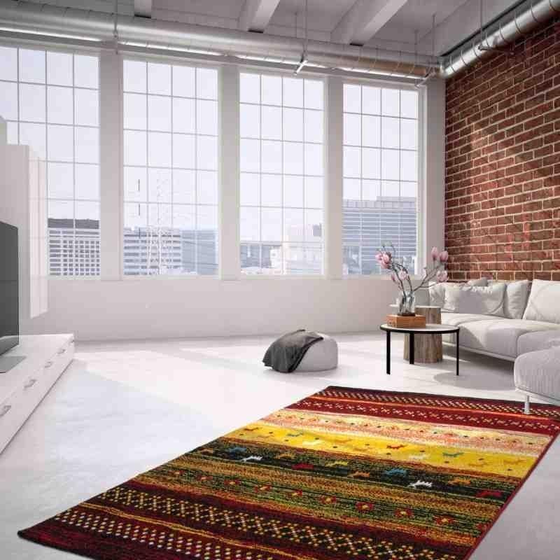 tappeto moderno fantasia castara 251 multicolore
