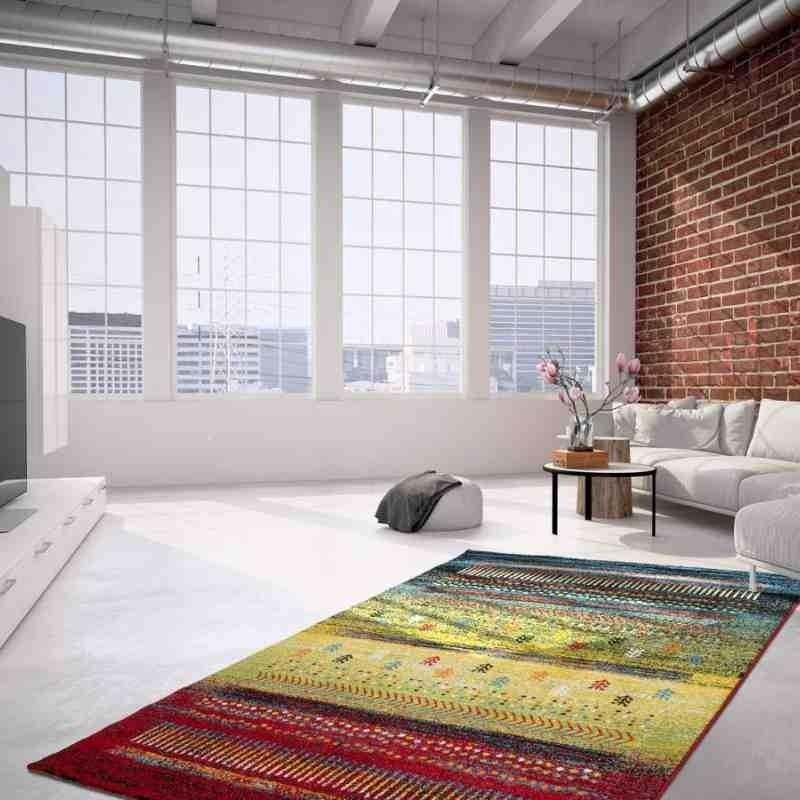 tappeto moderno fantasia castara 252 multicolore