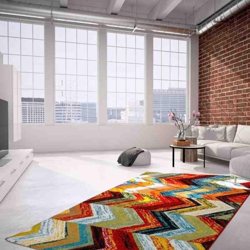 tappeto moderno fantasia castara 249 multicolore