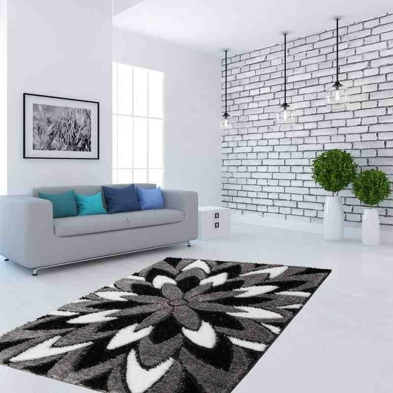 tappeto moderno floreale china yimian argento