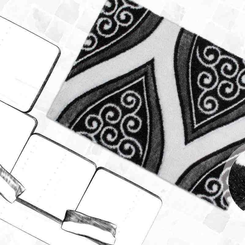 tappeto moderno fantasia china harbin argento