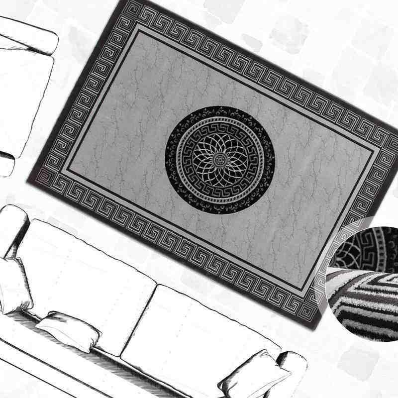 tappeto moderno fantasia denmark kolding argento