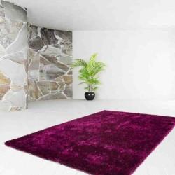 tappeto moderno tinta unita diamond 700 violetto-nero