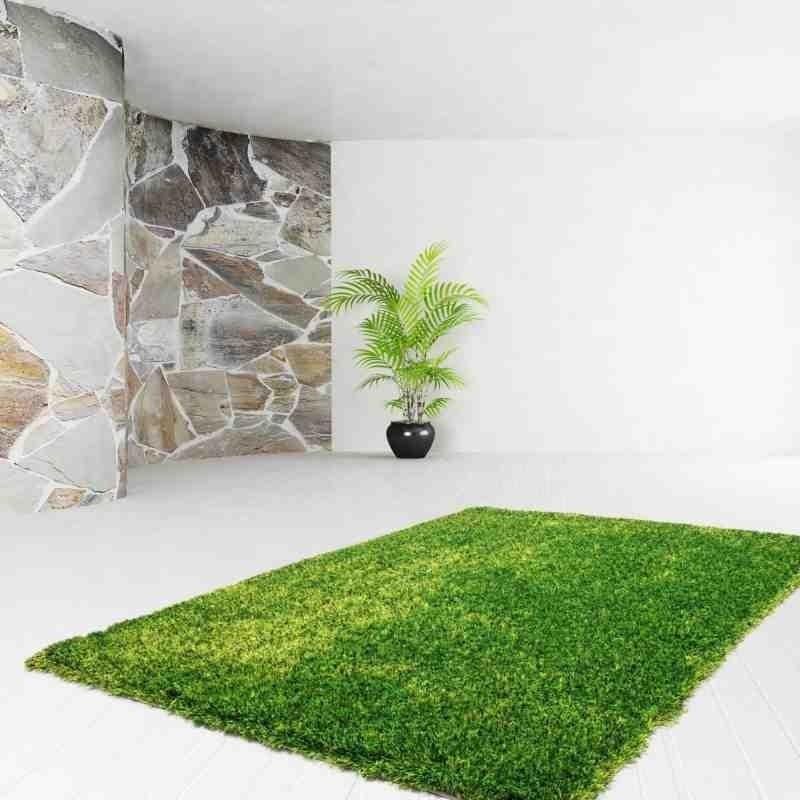 tappeto moderno tinta unita diamond 700 verde