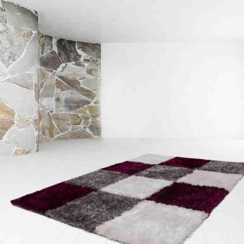 tappeto moderno geometrico diamond 752 grigio