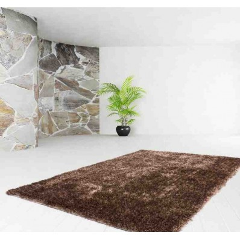 tappeto moderno tinta unita diamond 700 caramello