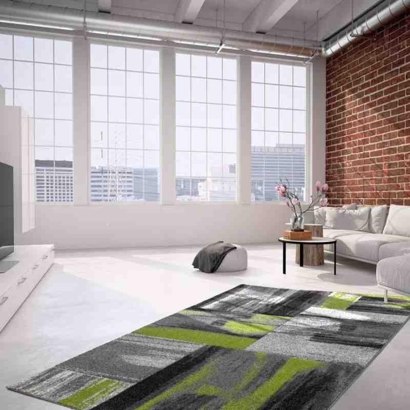 tappeto moderno fantasia dominica roseau verde