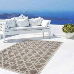 tappeto moderno geometrico equator 320 tortora