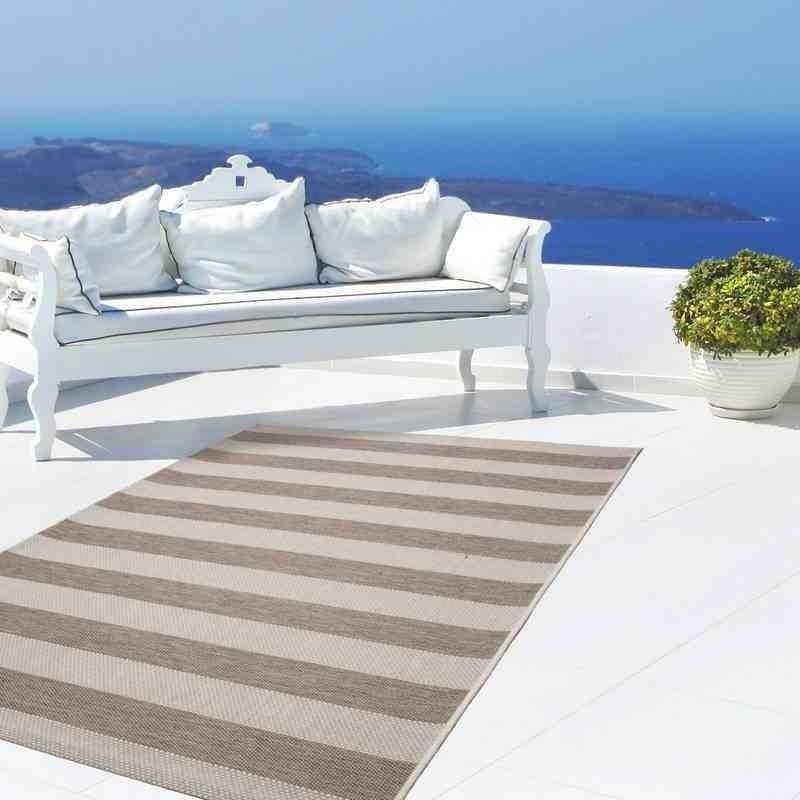 tappeto moderno geometrico equator 400 tortora