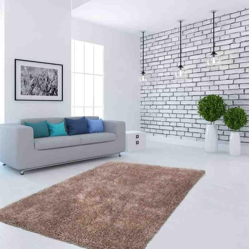 tappeto moderno tinta unita flash! 500 beige