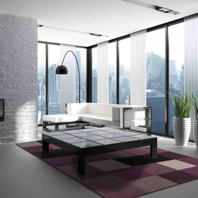 tappeto moderno patchwork funky 2034 argento