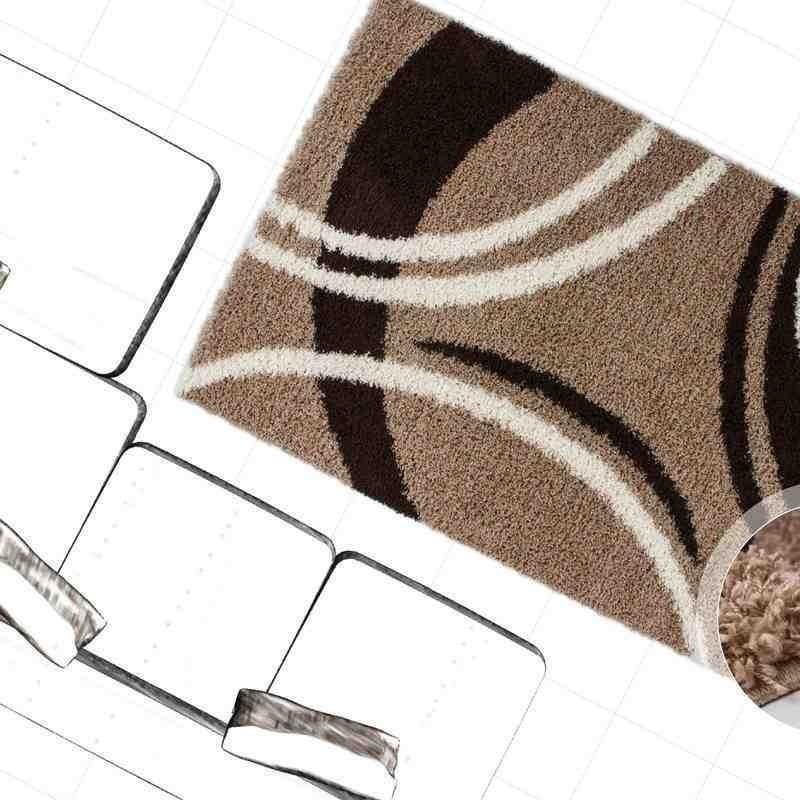 tappeto moderno geometrico germany cologne marrone