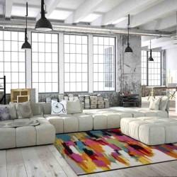 tappeto moderno fantasia guayama 255 multi