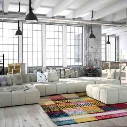 tappeto moderno fantasia guayama 285 multi