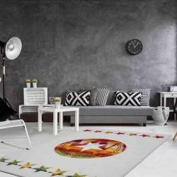 tappeto moderno fantasia hacienda 410 multi-avorio