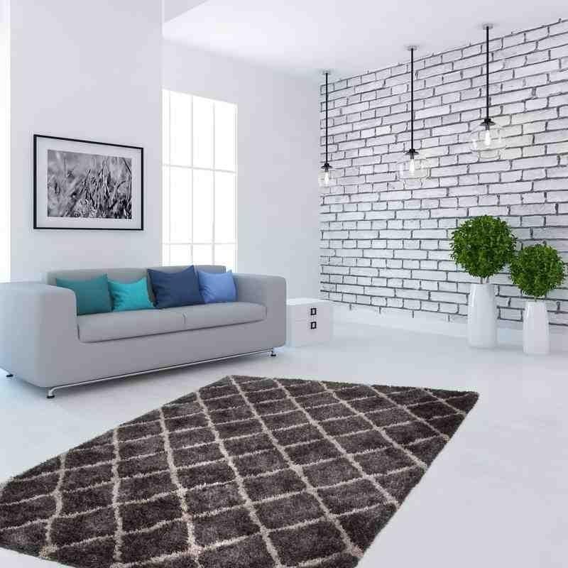 tappeto moderno geometrico hungary budapest grafite