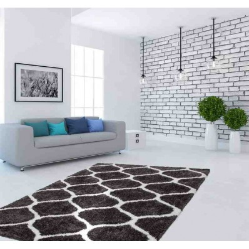 tappeto moderno geometrico hungary eger grafite