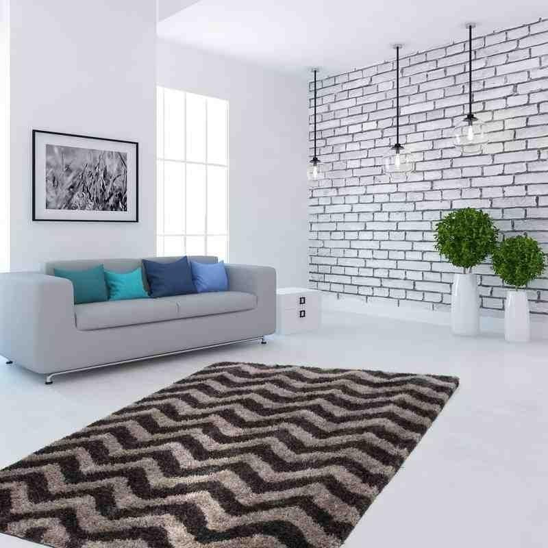 tappeto moderno geometrico hungary sopron grafite