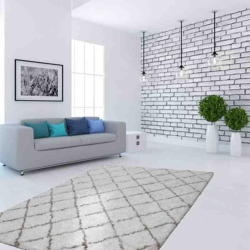 tappeto moderno geometrico hungary budapest avorio
