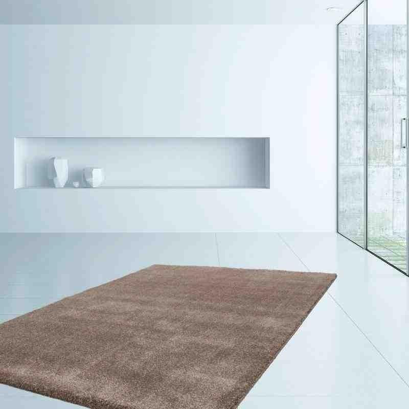 tappeto moderno tinta unita iceland akranes beige