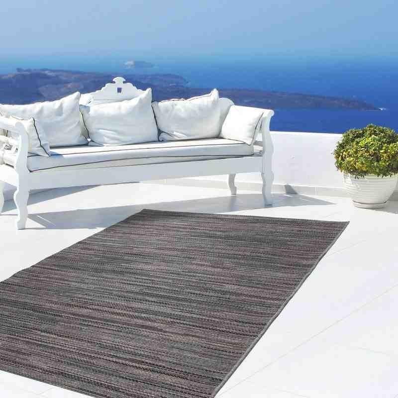 tappeto moderno tinta unita indonesia bali grigio
