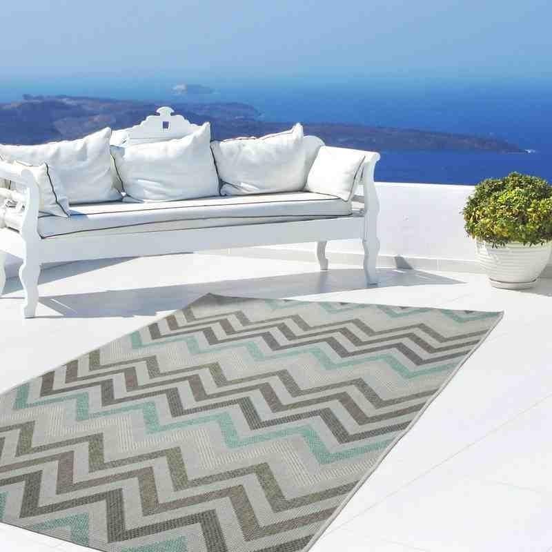 tappeto moderno geometrico indonesia rengat pastello verde