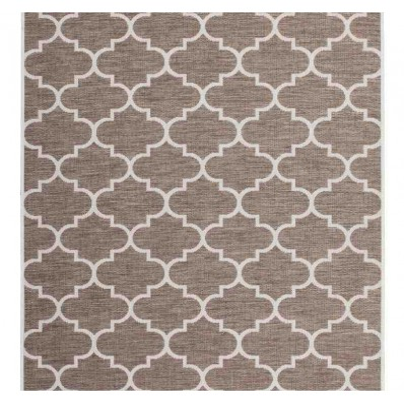 tappeto moderno geometrico indonesia batu beige