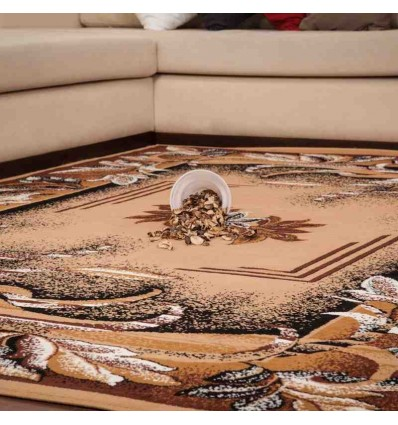 tappeto moderno classico iran isfahan beige