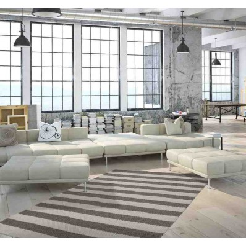 tappeto moderno geometrico jodhpur 110 naturale lana