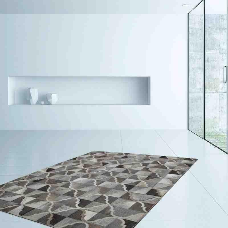 tappeto moderno geometrico lavish 310 grigio