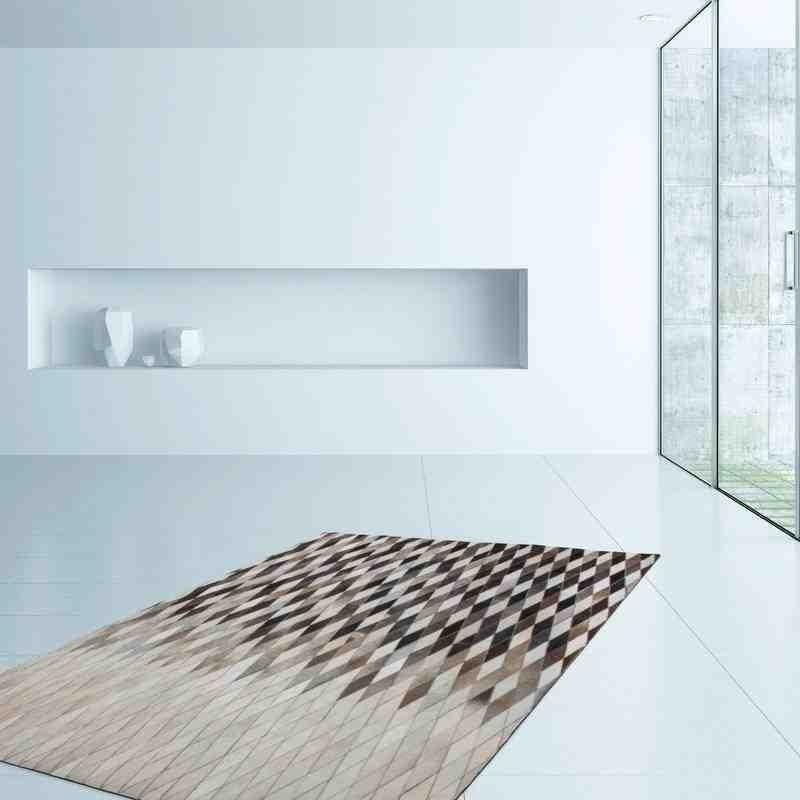 tappeto moderno tinta unita lavish 510 grigio