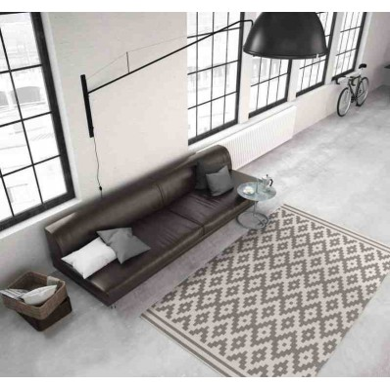 tappeto moderno geometrico malaysia miri tortora