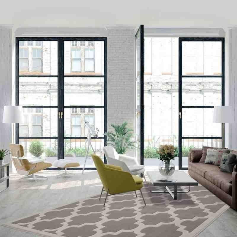tappeto moderno geometrico manolya 2097 argento