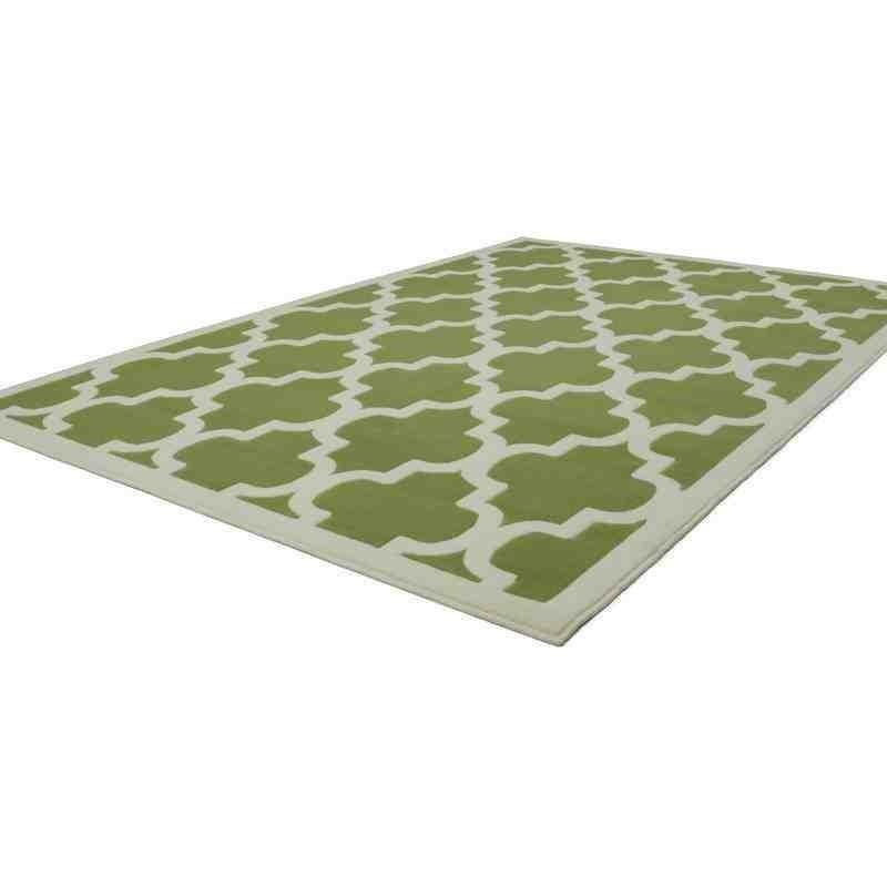 tappeto moderno geometrico manolya 2097 verde