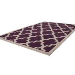 tappeto moderno geometrico manolya 2097 viola