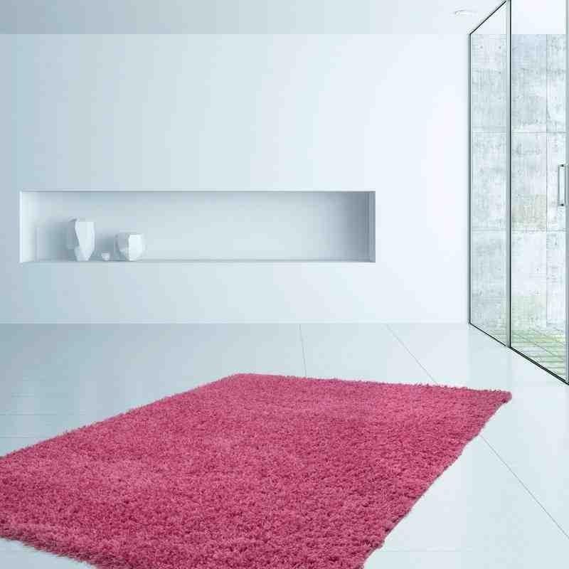 tappeto moderno tinta unita norway oslo rosa