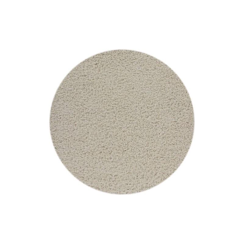tappeto moderno tinta unita rotondo norway oslo avorio