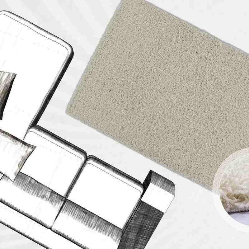 tappeto moderno tinta unita norway oslo avorio