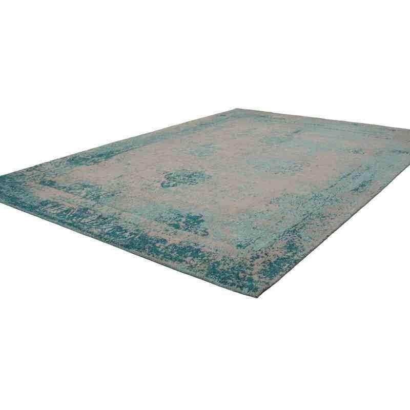 tappeto moderno vintage nostalgia 285 turchese