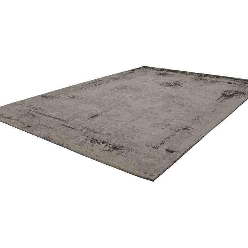 tappeto moderno vintage nostalgia 285 antracite