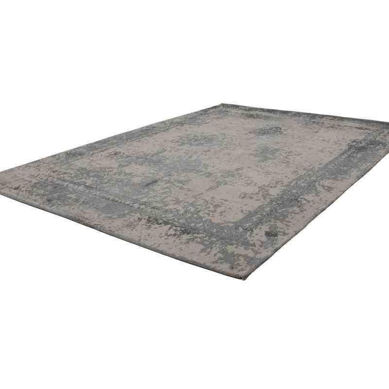 tappeto moderno vintage nostalgia 285 grigio