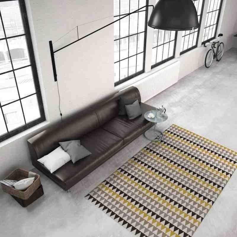 tappeto moderno geometrico now! 500 multi-oro