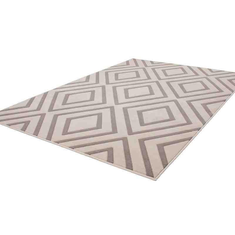 tappeto moderno geometrico replay tortora