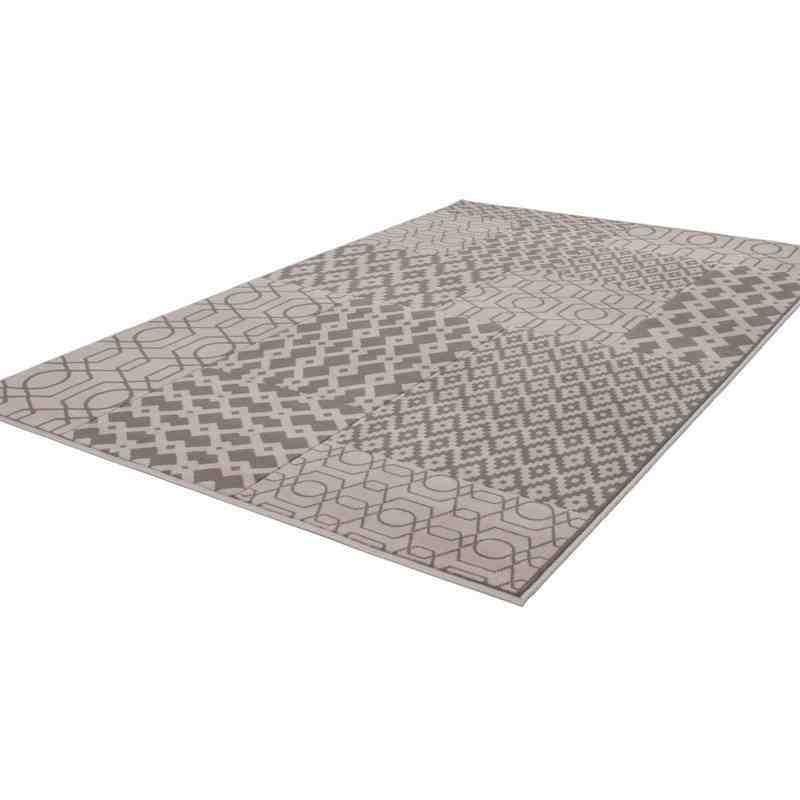 tappeto moderno patchwork replay multi-tortora