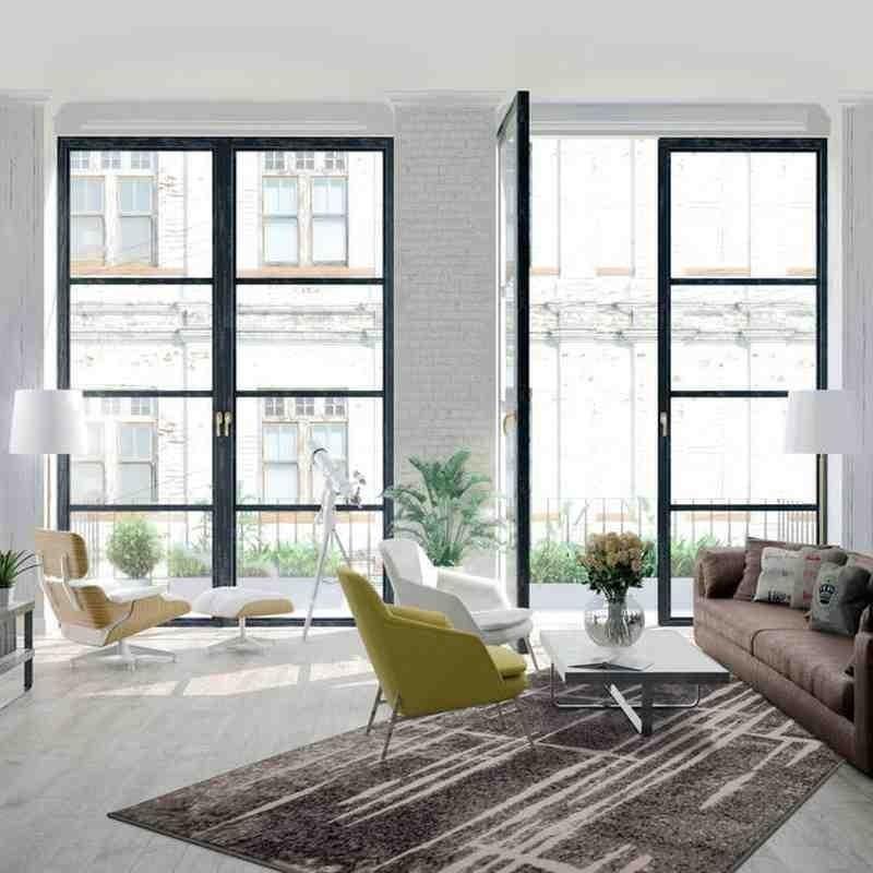 tappeto moderno fantasia rohullah 3010 grigio-avorio