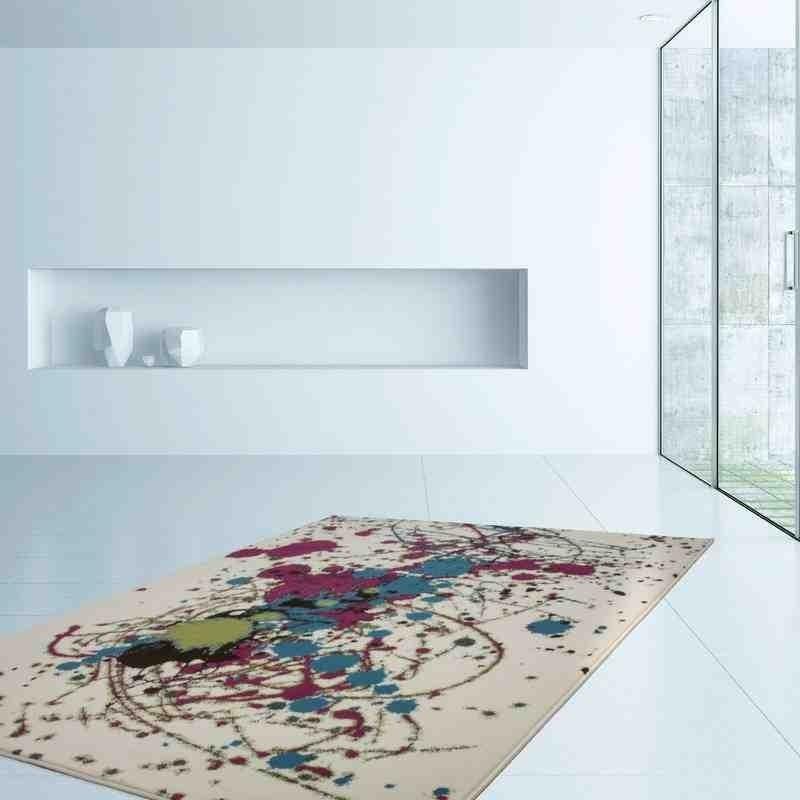 tappeto moderno fantasia rohullah 5010 multi