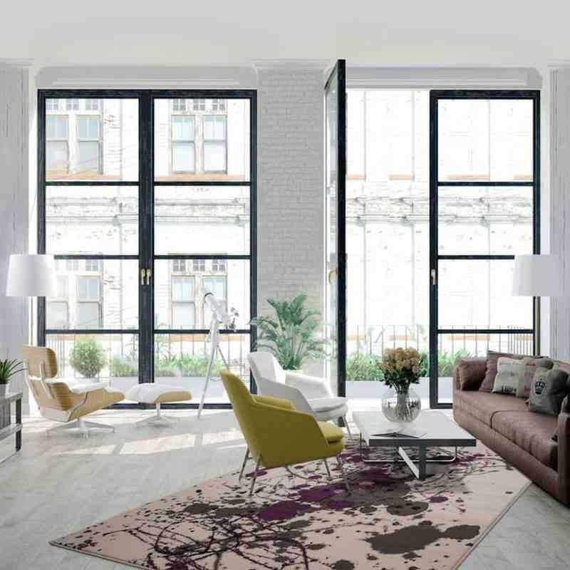 tappeto moderno fantasia rohullah 5010 grigio