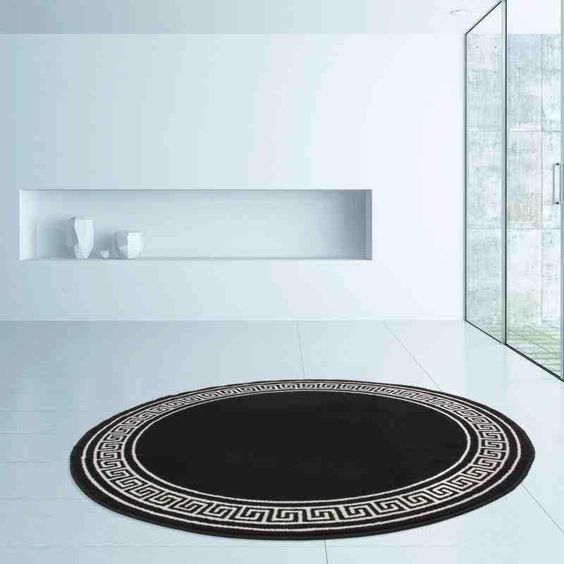 tappeto moderno classico rohullah 7010 nero