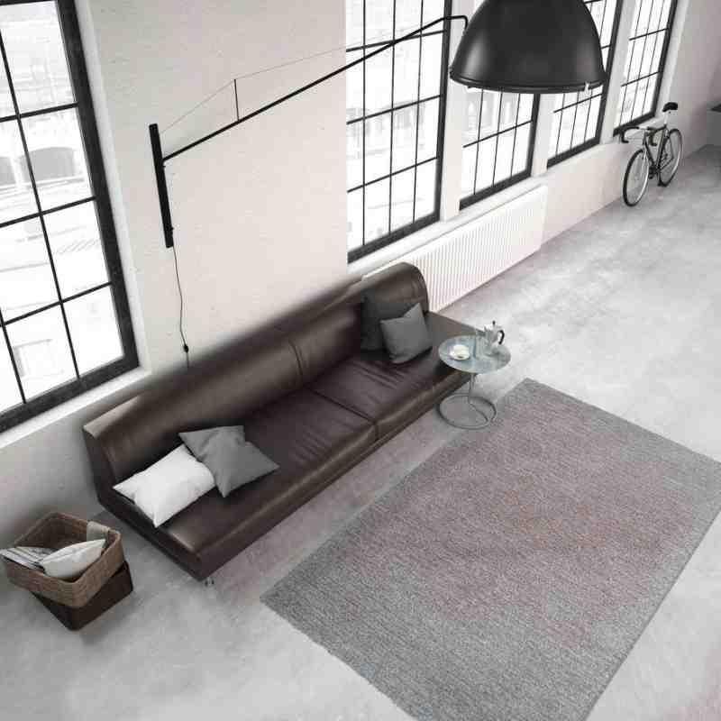 tappeto moderno tinta unita smooth 300 crema